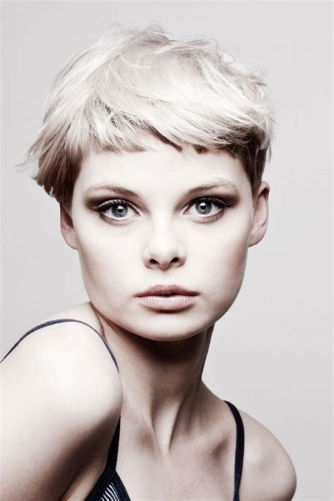 flattering short haircuts flattering short hairstyles with bangs
