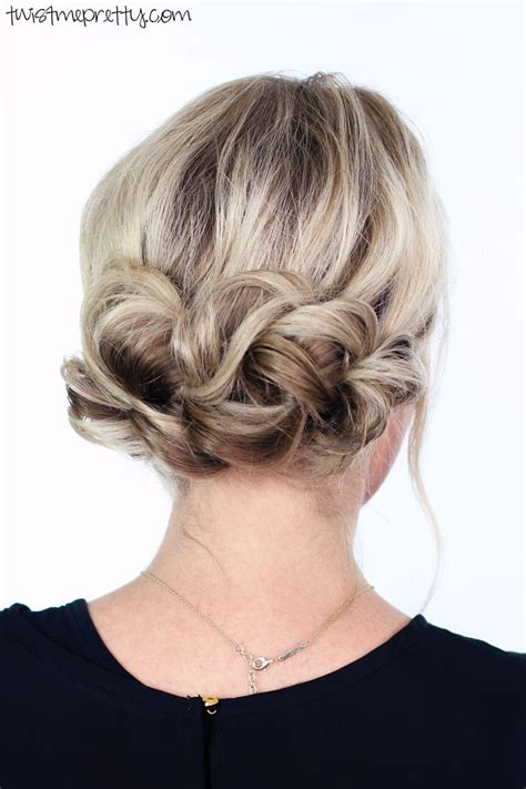updos for christmas updo twist me pretty