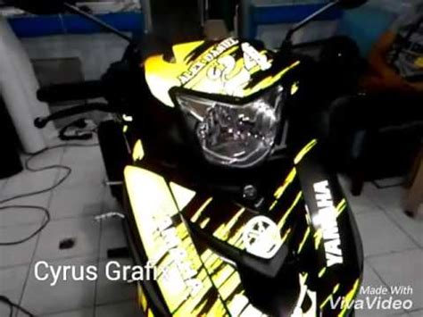 Yamaha Vega Sticker Design by Decals By Cyrus Grafix Youtube