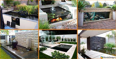 realizzare un laghetto in giardino come creare un laghetto koi in casa o in giardino 20 idee