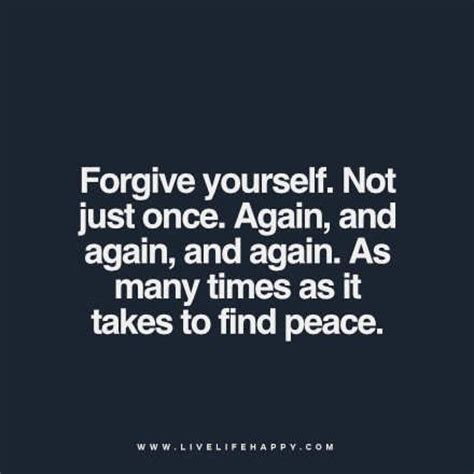Once Again With You peace quotes and forgive me on