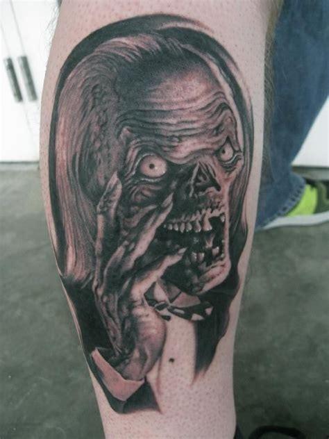 tattoo nightmares narrator classic nightmare horror tattoo on leg tattoos