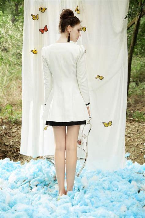 Obral Kemeja Korea Baju Fashion Wanita Coat Jaket Import Korea Dress jaket wanita korea white korean coat jln10309