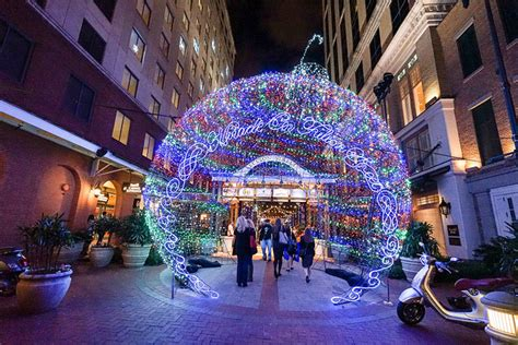 places to see christmas lights in new orleans 5 must do events during season in new orleans nola christmasfest