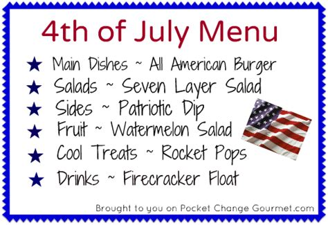 fourth of july main dishes all american burger pocket
