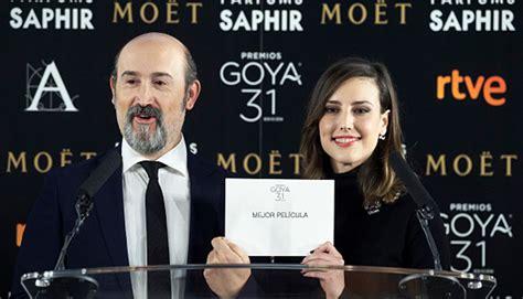 premios goya 2017 aqu 237 la lista completa de nominados fotos foto 1 de 5 cine premios goya 2017 aqu 237 la lista completa de nominados fotos cine entretenimiento