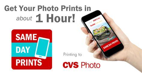 cvs 1 hour photo app mobile photo printing mailpix