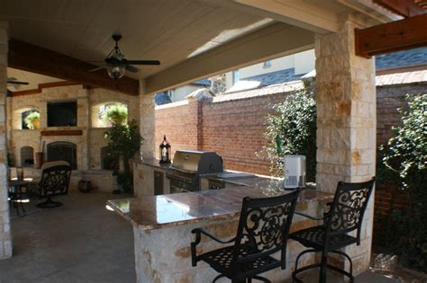 covered outdoor kitchen cost fort worth covered patio with pergola outdoor kitchen and