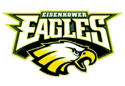 Eisenhower High School Logo | eisenhower eagles jesuit high school
