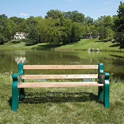 plastic park bench ends park bench kit