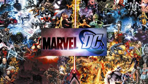 marvel versus film marvel vs dc more super heroes in film equal success