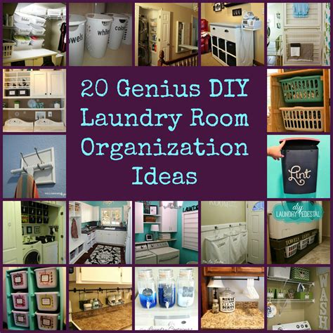 laundry room organizer collage diy for