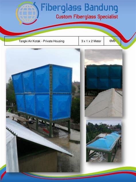 Tangki Panel Fiberglass Frp katalog tangki panel fiberglass frp water tank