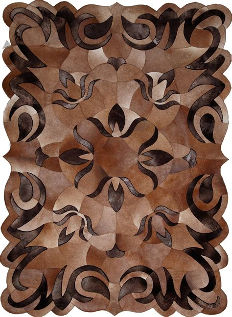 Cowhide Designer Rugs 32dk1111 Cowhide Design Rug From The Sheepskin Rugs