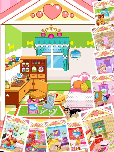 app shopper dream house design game for girls games app shopper princess bedroom house decoration game for