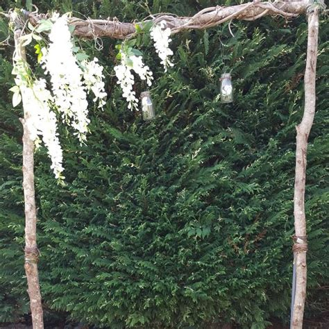 Wedding Arch With Wisteria by Wedding Arch Hire Backdrops Arbours Weddings Melbourne