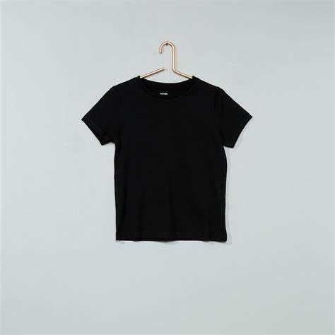 imagenes en puro negro camiseta de algod 243 n puro chico negro kiabi 2 00