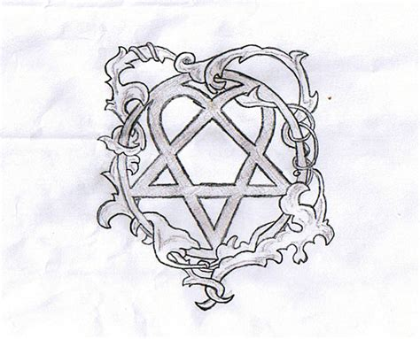 heartigram tattoo maker heartagram design by ourheavenlyrapture on deviantart
