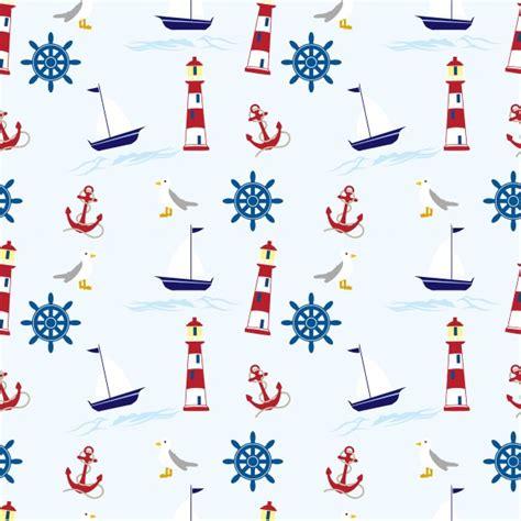 nautical wallpapers nautical wallpaper pattern seamless free stock photo