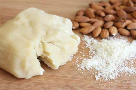 easy homemade marzipan or almond paste the daring gourmet