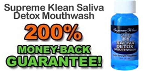 Supreme Saliva Detox Mouthwash by How To Pass A Saliva Test Passdrugtest