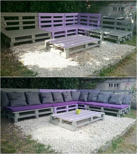 pallet garden corner sofa diy wood pallet projects you should try this summer