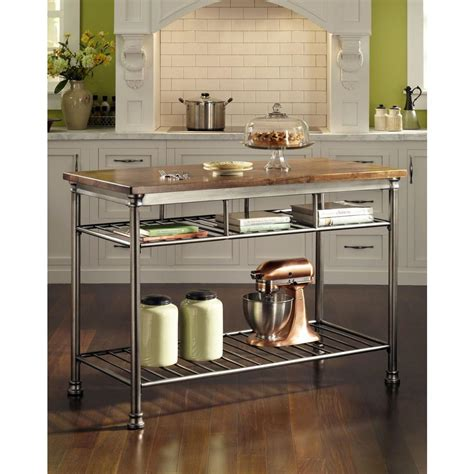 Home Styles Orleans Kitchen Island Home Styles The Orleans Vintage Kitchen Utility Table 5061 94 The Home Depot