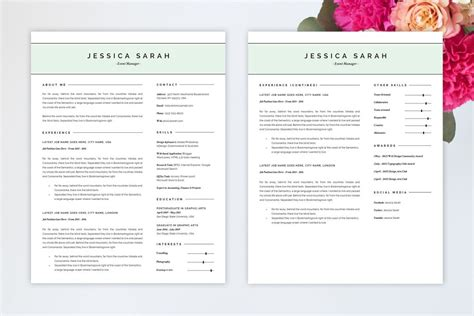Resume Templates That Ll Help You Stand Out From The Crowd Gen Y Girl Free Pretty Resume Templates