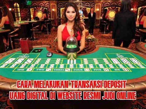 deposit uang digital bandar judi slot  deposit