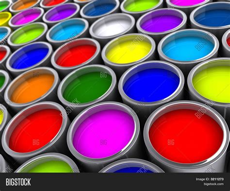 color by design paint and print with dye second edition books paint cans stock photo stock images bigstock