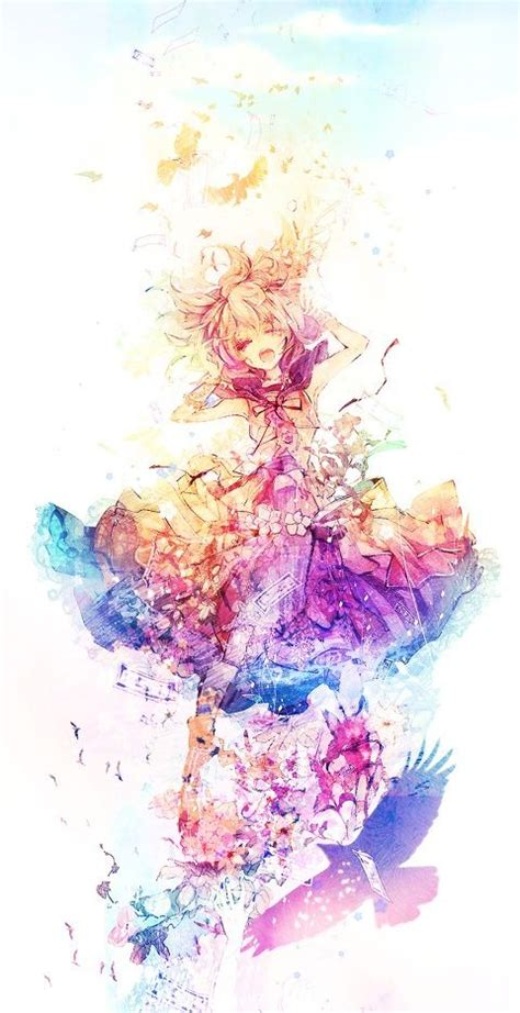 Beautiful Colorful Anime 25 Best Ideas About Beautiful Anime Girl On Pinterest