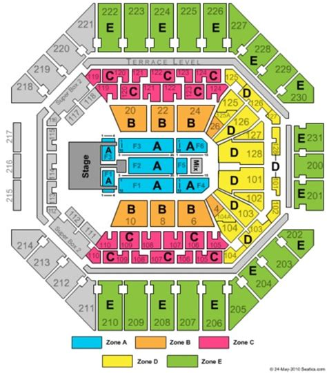 att center seating map at t center tickets at t center in san antonio tx at