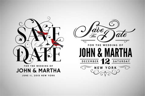 Save The Date Template Psd 10 Sle Save The Dates Sle Templates