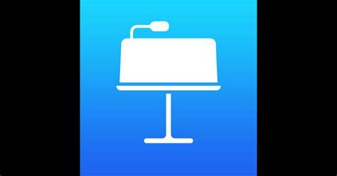 Keynote Notes keynote on the app store