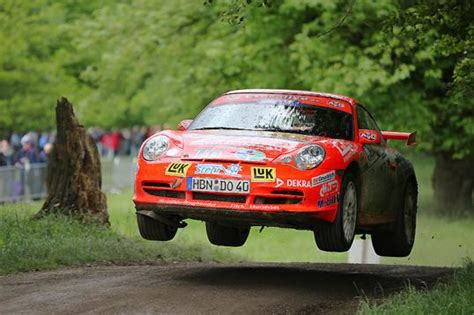 porsche rally car jump we don t need no stinking pavement 911 rally photos