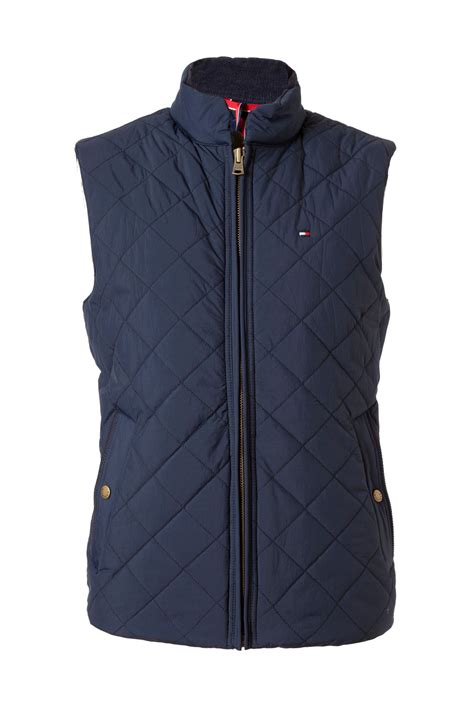 Hilfiger Quilted Vest by Hilfiger Quilted Browning Vest In Blue For Lyst