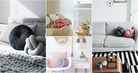 extraordinary diy knot pillows to give new appearance to adorable diy knot pillow that anyone can make