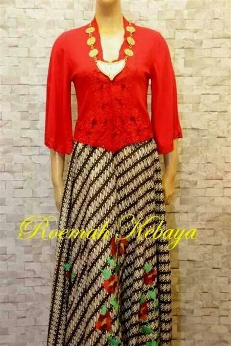 A117 Terusan Batik Peplum Merah 57 best images about kebaya dan kabaya on fashion weeks colour and skirts