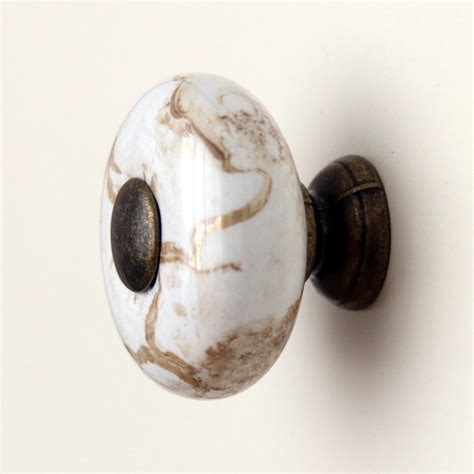 kitchen cabinet knobs ceramic 26mm vintage round marbleized ceramic drawer knobs kitchen