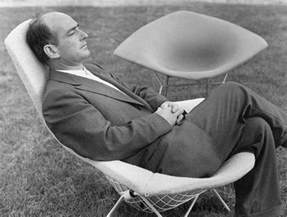 knoll international chair by harry bertoia 1952