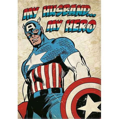 Captain America Peace Forever Kaos my husband my marvel captain america birthday card 25455194 character brands