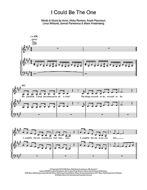 avicii you make me sheet music i could be the one sheet music by avicii nicky romero