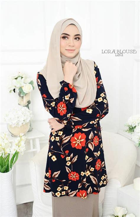 Blouse Naura Tunic blouse lora lb01 1 saeeda collections