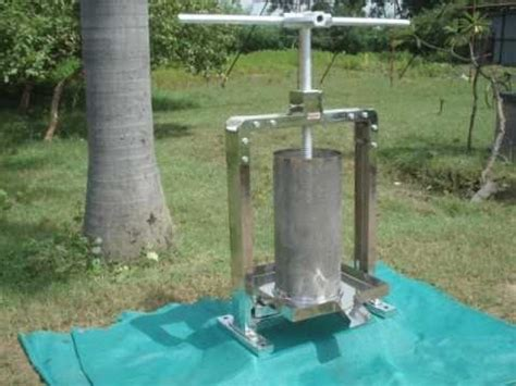 press extraction expeller extraction press