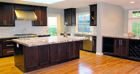 river white granite with dark cabinets 93 best images about kitchen decor on pinterest