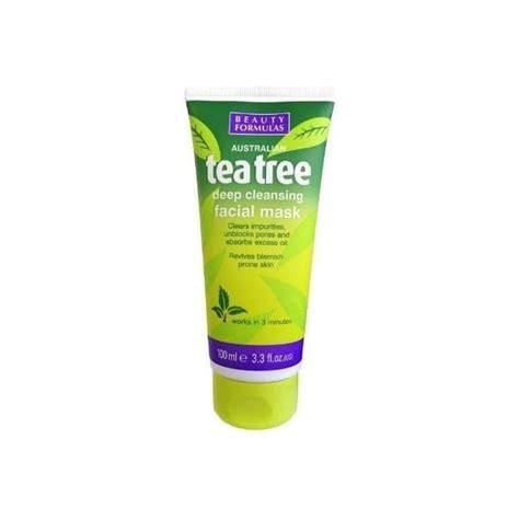 Tea Tree Mask 100ml formulas tea tree cleansing mask 100ml