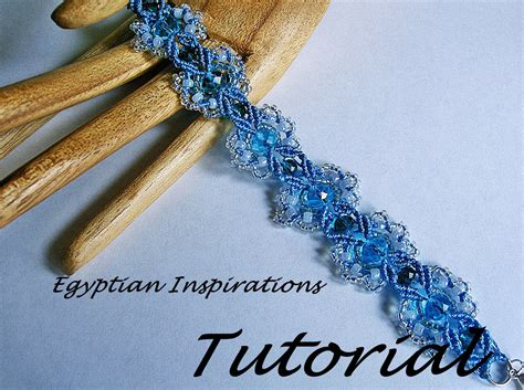 Micro macrame tutorial pattern. Beaded bracelet pattern.