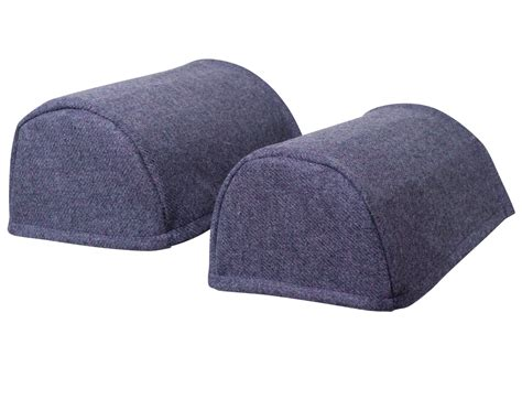 arm caps covers for chairs and settees pair of standard round arm caps pure new wool scottish