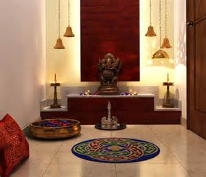 How To Decorate Mandir At Home pooja room archives interior design ideas