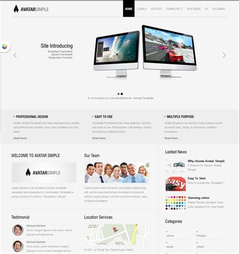 bootstrap jquery layout this free bootstrap joomla template includes a responsive